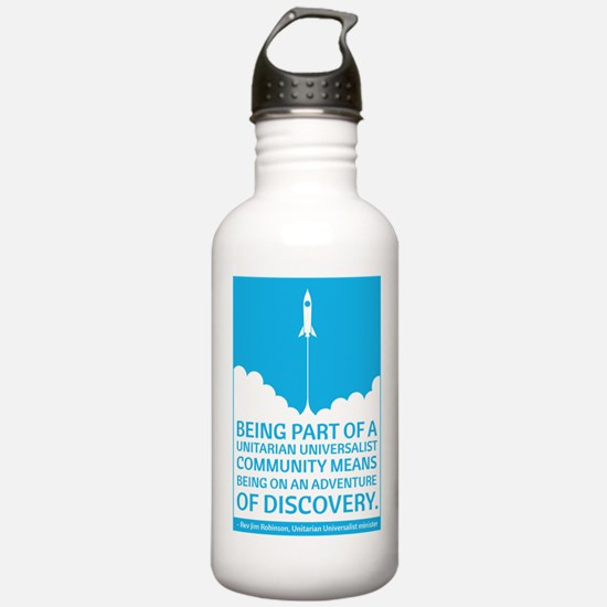 UU Community Means Discovery Water Bottle