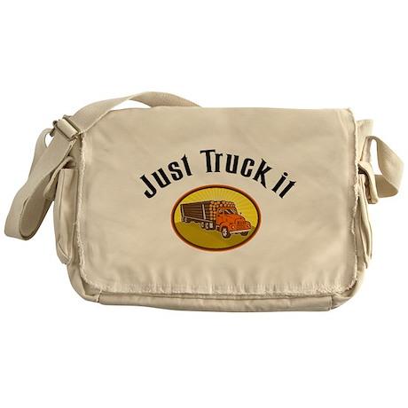Just Truck It Messenger Bag