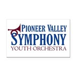Youth Orchestra Rectangle Car Magnet