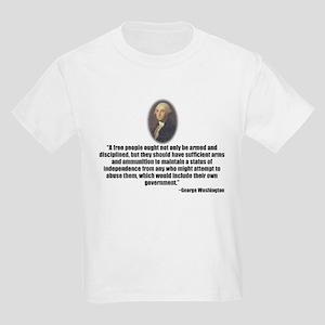 Gun Control Kids Light T-Shirt