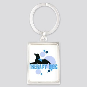 therapbluedogs2 Keychains
