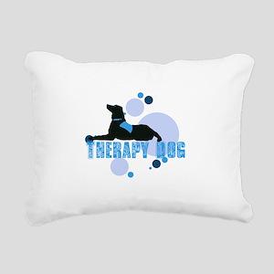 therapbluedogs2 Rectangular Canvas Pillow