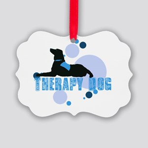 therapbluedogs2 Ornament