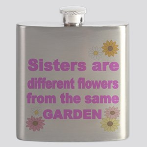 SISTER ARE DIFFERENT FLOWER FROM THE SAME GARDEN F