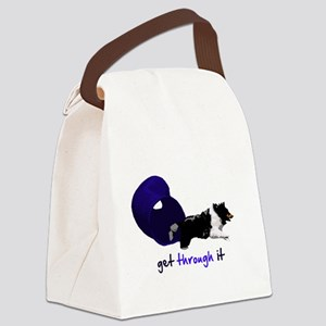 tunnel_getthroughit Canvas Lunch Bag