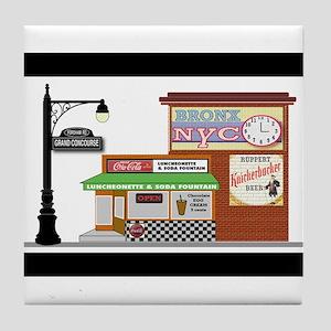 Bronx Soda Shop Tile Coaster