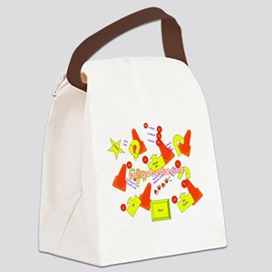lotsofsigns2 Canvas Lunch Bag