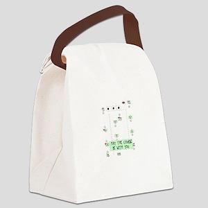 rallycoursebewithyou Canvas Lunch Bag