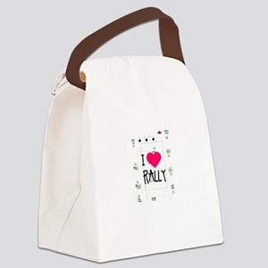 rallylove Canvas Lunch Bag