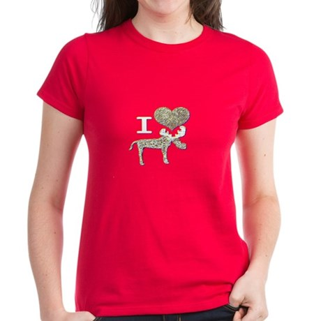 I heart Moose Women's Dark T-Shirt