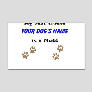 Custom Mutt Best Friend Wall Decal