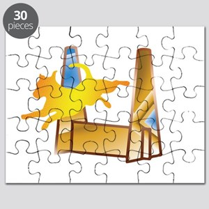 Pop Art Flyball Puzzle