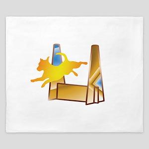 Pop Art Flyball King Duvet
