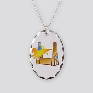 Pop Art Flyball Necklace