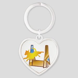 Pop Art Flyball Keychains