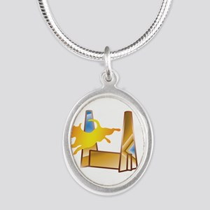 Pop Art Flyball Necklaces