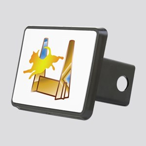 Pop Art Flyball Hitch Cover