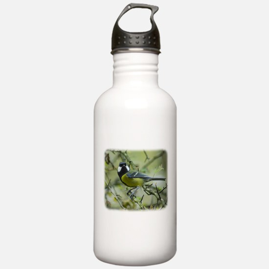Great Tit 9P52D-120 Sports Water Bottle