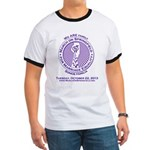 March on Springfield Purple Main Logo T-Shirt