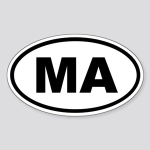 Massachusetts MA Sticker