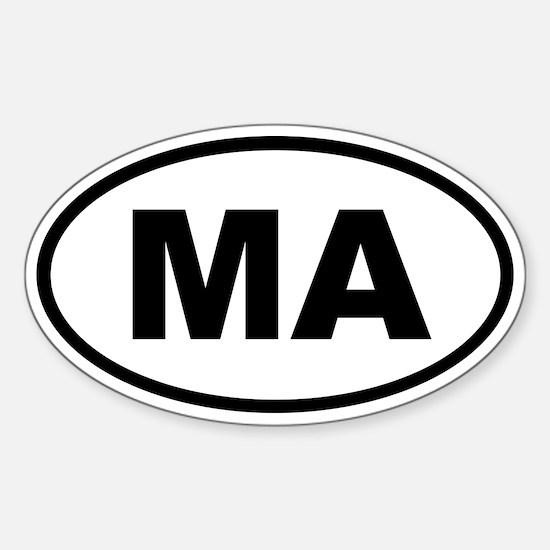 Massachusetts MA Decal