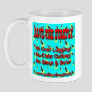 Save The Firefly No Over Logg Mug