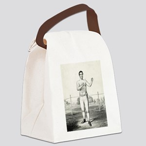 John Morrissey - 1860 Canvas Lunch Bag