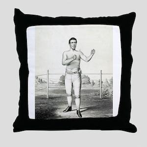 John Morrissey - 1860 Throw Pillow