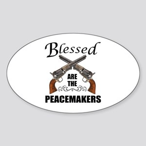 Blessed Are The Peacekeepers Sticker