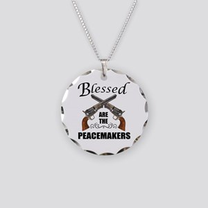 Blessed Are The Peacekeepers Necklace