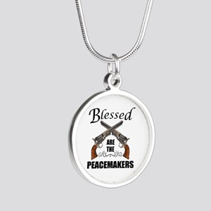 Blessed Are The Peacekeepers Necklaces