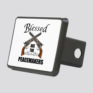 Blessed Are The Peacekeepers Hitch Cover