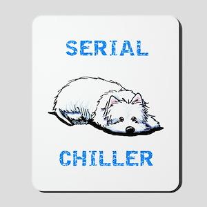 Westie Serial Chiller Mousepad