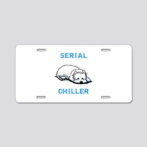 Westie Serial Chiller Aluminum License Plate