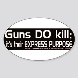 Guns DO kill. Sticker