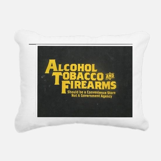 ATF Rectangular Canvas Pillow