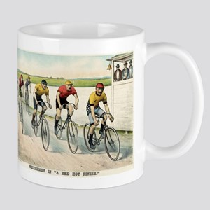 Wheelmen in a red hot finish - 1894 11 oz Ceramic