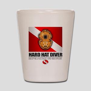 Hard Hat Diver Shot Glass