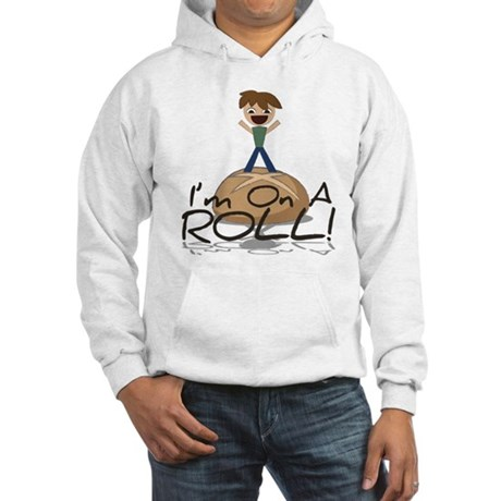 Funny On A Roll Hoodie