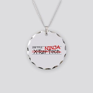 Job Ninja X-Ray Tech Necklace Circle Charm