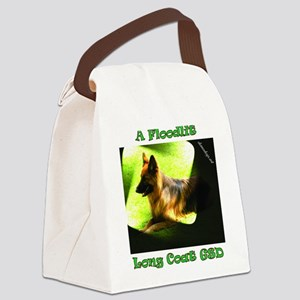 A Floodlit Long Coat GSD Canvas Lunch Bag