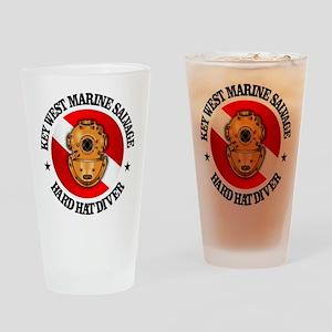 Key West Marine Salvage Drinking Glass