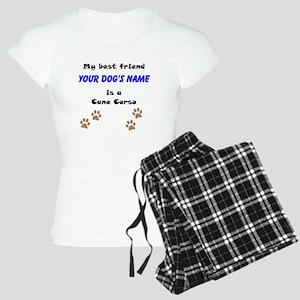 Custom Cane Corso Best Friend Pajamas
