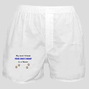 Custom Boxer Best Friend Boxer Shorts