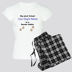 Custom Border Collie Best Friend Pajamas