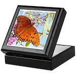 Beautiful Butterfly Print Keepsake Box
