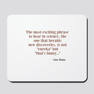 Issac Asimov's Quote About Science Discovery