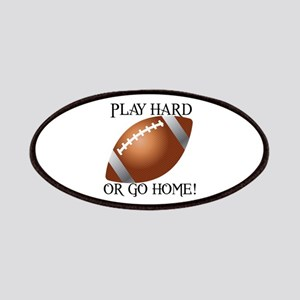 Play Hard or Go Home - Football Patches