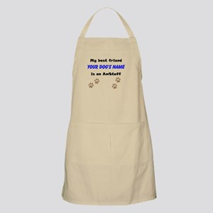 Custom AmStaff Best Friend Apron