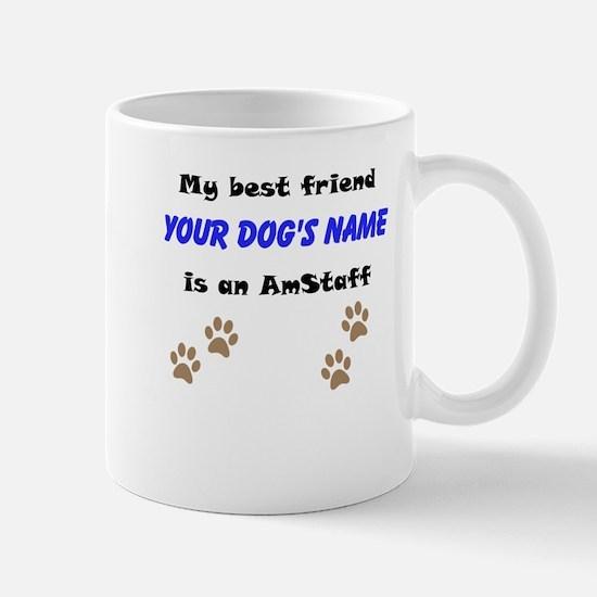 Custom AmStaff Best Friend Mug